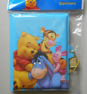 New Disney Winnie the Pooh Diary Note Book Hard Cover