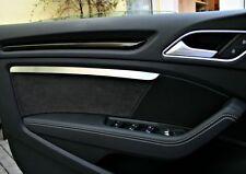 Audi A3 S3 RS3 8v quattro Zierstäbe mit Ambientebeleuchtung Aluminium Cabrio