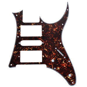 1-Pcs-Brun-Fonce-ecaille-De-Tortue-Humbucker-Humbucker-Guitare-Pickguard-Ibanez-RG250