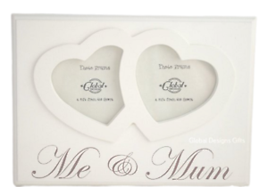 Me-and-Mum-Twin-Hearts-Photo-Frame-Wooden-Cream-Freestanding-Mothers-Day-F1217C
