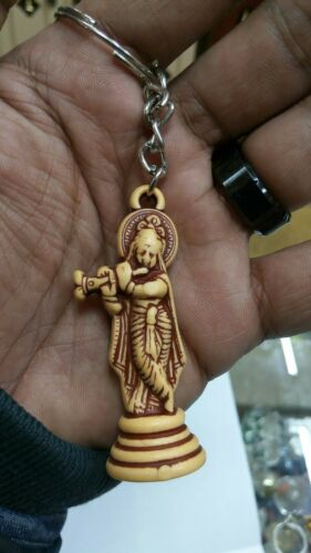Key chain Small Krishna Hindu God religious item Usa Seller