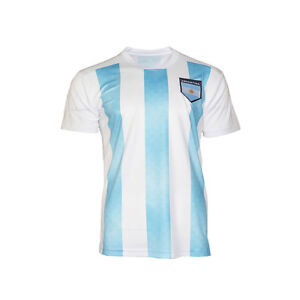 more photos f6b06 37e0d Details about Argentina National Team Jersey Patriotic Flag Shield Pride  Sports Soccer