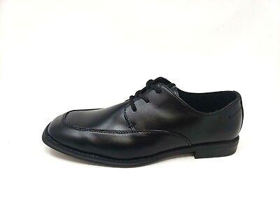 Details about Sonoma (Kohls) Black Lace Up Dress Shoes Memory Foam Boys Size 4 Med