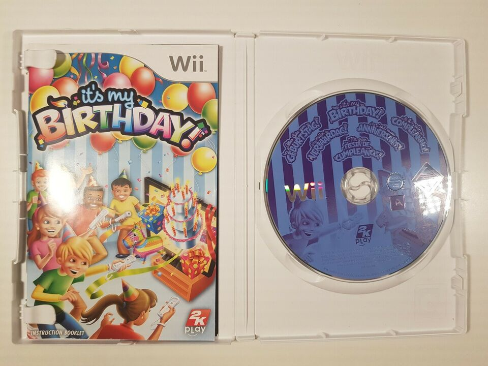 It's my birthday, Nintendo Wii