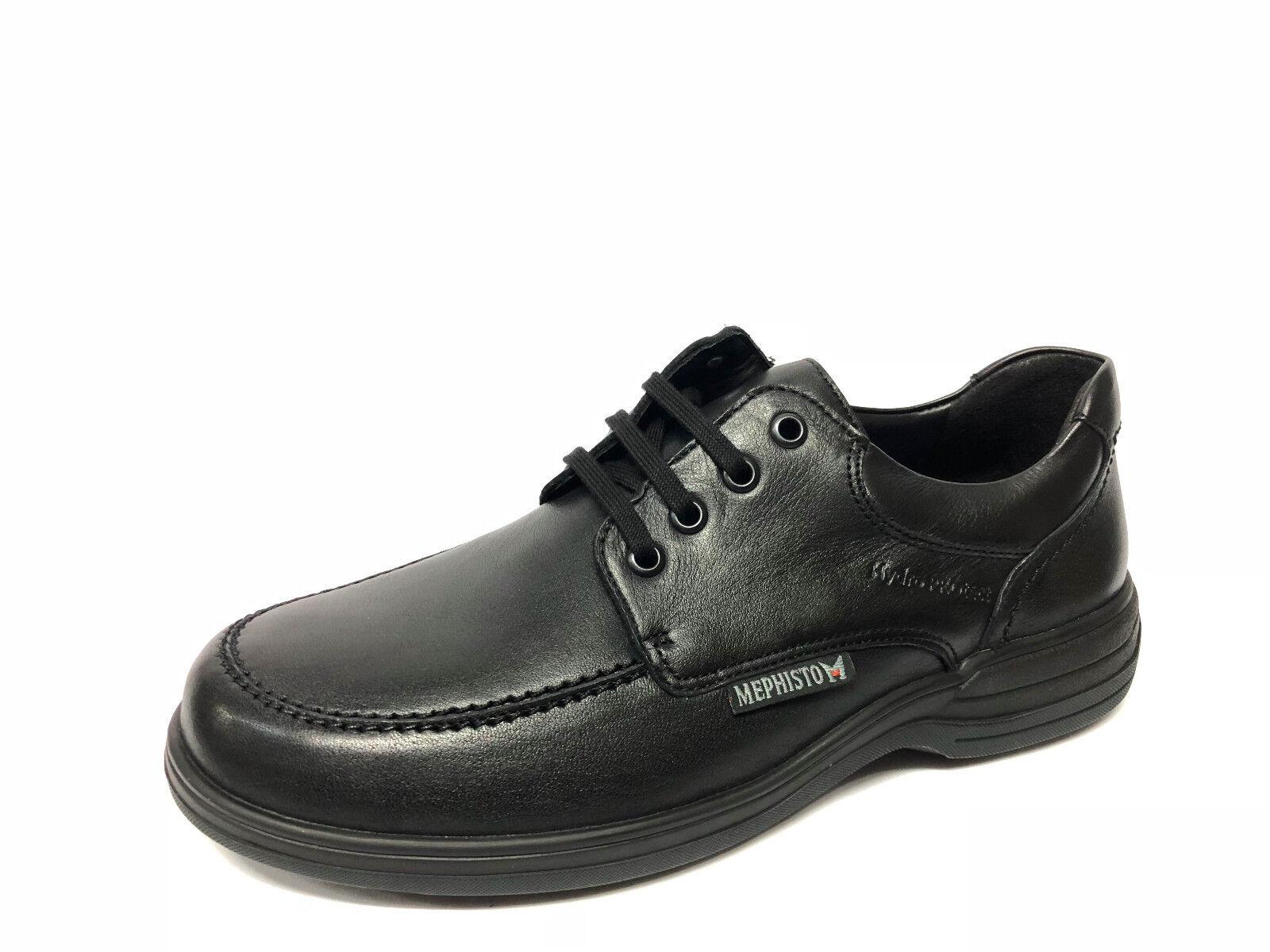 shoes Mephisto Douk pelle nera Hydropredect