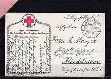 AK - Rotes Kreuz - Feldpost -  vom 14.1.1916  ( 25513 )
