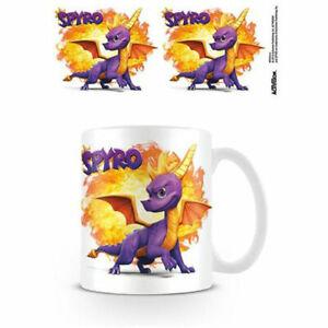 Spyro - Fireball Mug x 2 BRAND NEW (Set of 2 Mugs)