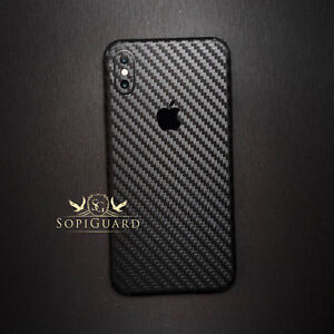 new style 304a5 2c669 Details about SopiGuard 3M Avery Carbon Fiber Skin Full Body For Apple  iPhone XS MAX