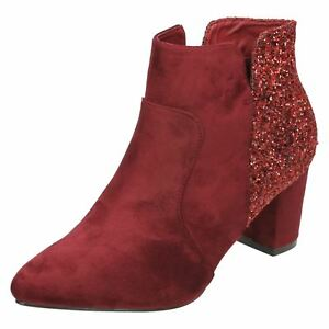 bieten viel neues Discounter Details about SALE Ladies Anne Michelle Ankle Boots F5R0690- show original  title