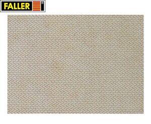 Faller-H0-170600-Mauerplatte-034-Gehweg-034-1m-57-28-NEU