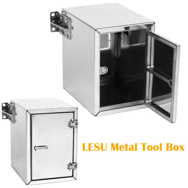 1//14 TAMIYA RC MAN Tractor Truck Car LESU Metal Steel Tool Box A Upgraded DIY