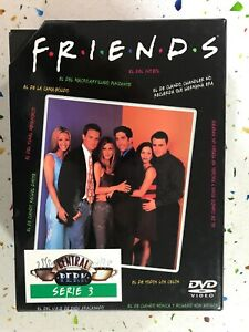 Friends Series 3 - 4 X DVD Episodi 49 A 73 Spagnolo Inglese Francese Italian Am