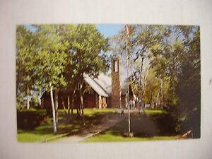 Vintage Photo Postcard Big Trout Lake Bible Camp Pine River