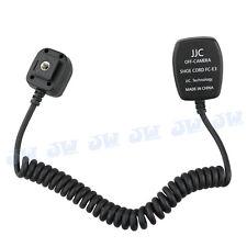 JJC 1.4m TTL Off-Camera Hot Shoe Cord for Canon Flash Speedlite replaces OC-E3