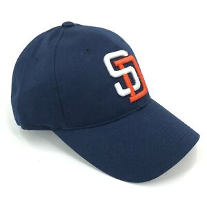 San-Diego-Padres-Outdoor-Cap-Adjustable-Hat-Youth-Adult-Sizes-Curved-Brim-Blue