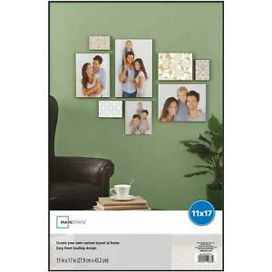 """11 x 17"""" Format Picture Frame Wall Black Poster Vertical Horizontal Home Decor"""