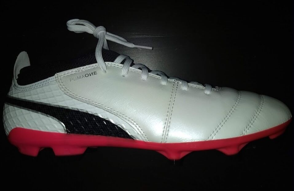 Puma One 17.2 FG  Herren Soccer Cleats Schuhes, 104068 01, US Größe 9.5