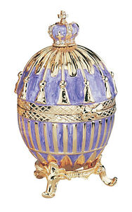 Faberge Tassel Enameled Egg Replica Reproduction