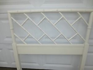 Image Is Loading Fretwork Faux Bamboo Twin Size Headboard Chinese Chippendale