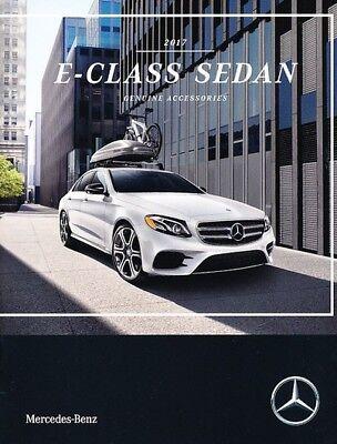 E400 E550 Cabriolet 2017 Mercedes Benz E-Class 24-page Sales Brochure Catalog