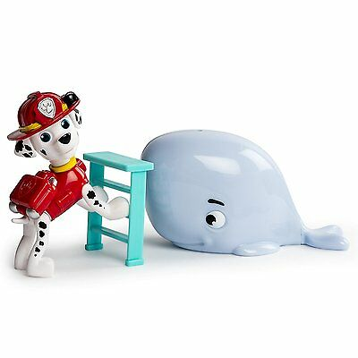 Paw Patrol Marshall Baby Whale Rescue Set Marcus Fire Dog Action Figure Toy