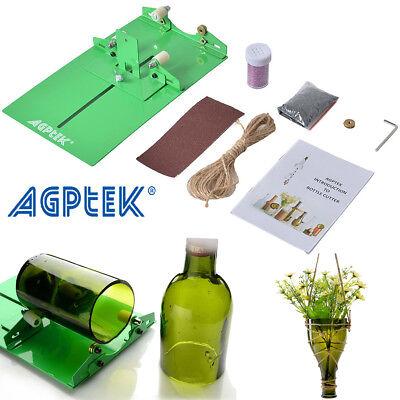AGPtek Bottle Cutter Kit Glass Wine Bottle Cutter Cutting ...