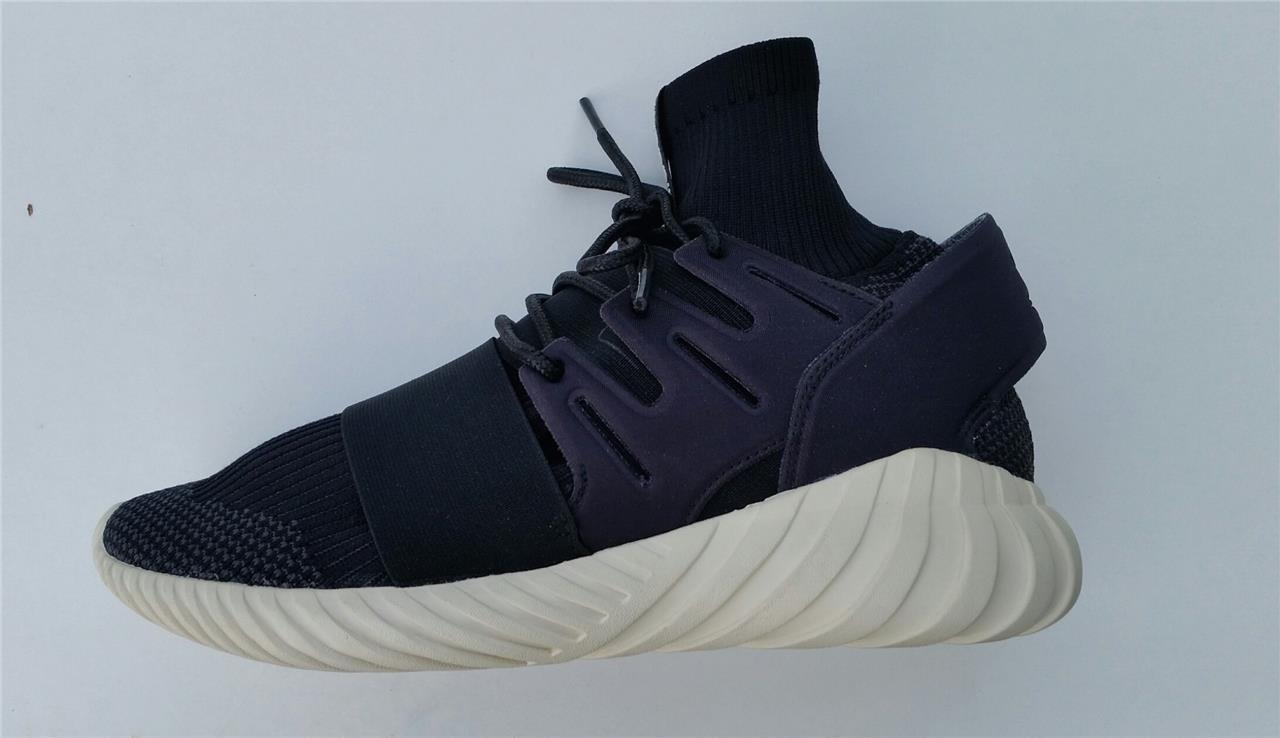 Adidas Hommes Tubulaire Destin Prime Tricot Noir Crème Baskets S74921 Uk7 To