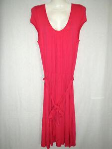 Details zu Kleider H&M Damen Kleid Weiche, sehr schön fallende Qualität  Cerise Gr.9 #9