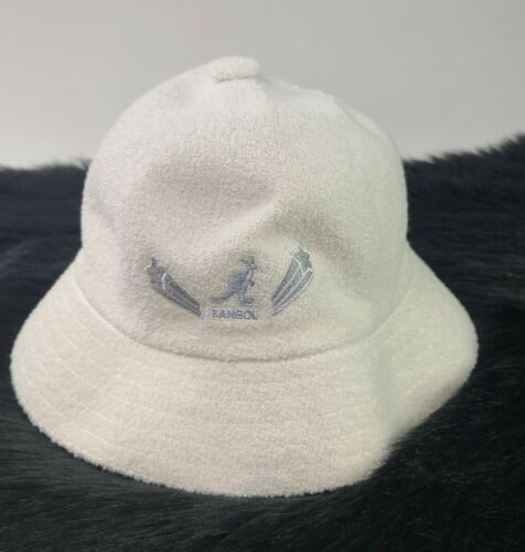 Kangol Large white  Hip Hop honors 2004 Bucket Hat