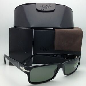 7d87369785 New Polarized PERSOL Sunglasses 2747-S 95 48 57-16 Black Frame w ...