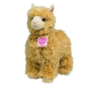 Teddy-Hermann-Lama-beige-24-cm-90589-Kuscheltier-Plueschtier-Stofftier-Neu