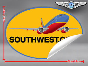 SOUTHWEST-AIRLINES-SOUTH-WEST-SWA-OVAL-AIRPLANE-LOGO-STICKER-DECAL