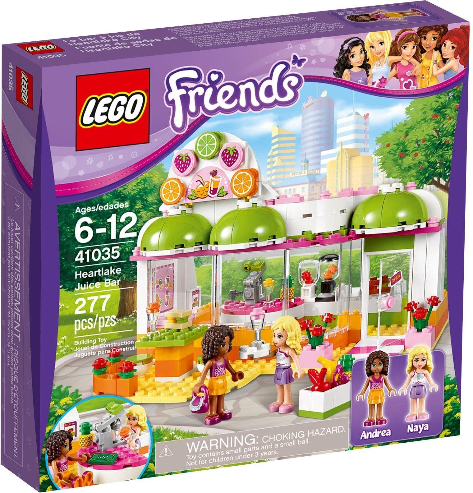 LEGO Friends 41035 Heartlake Juice Bar Andrea Naya BNIB shop store grocery