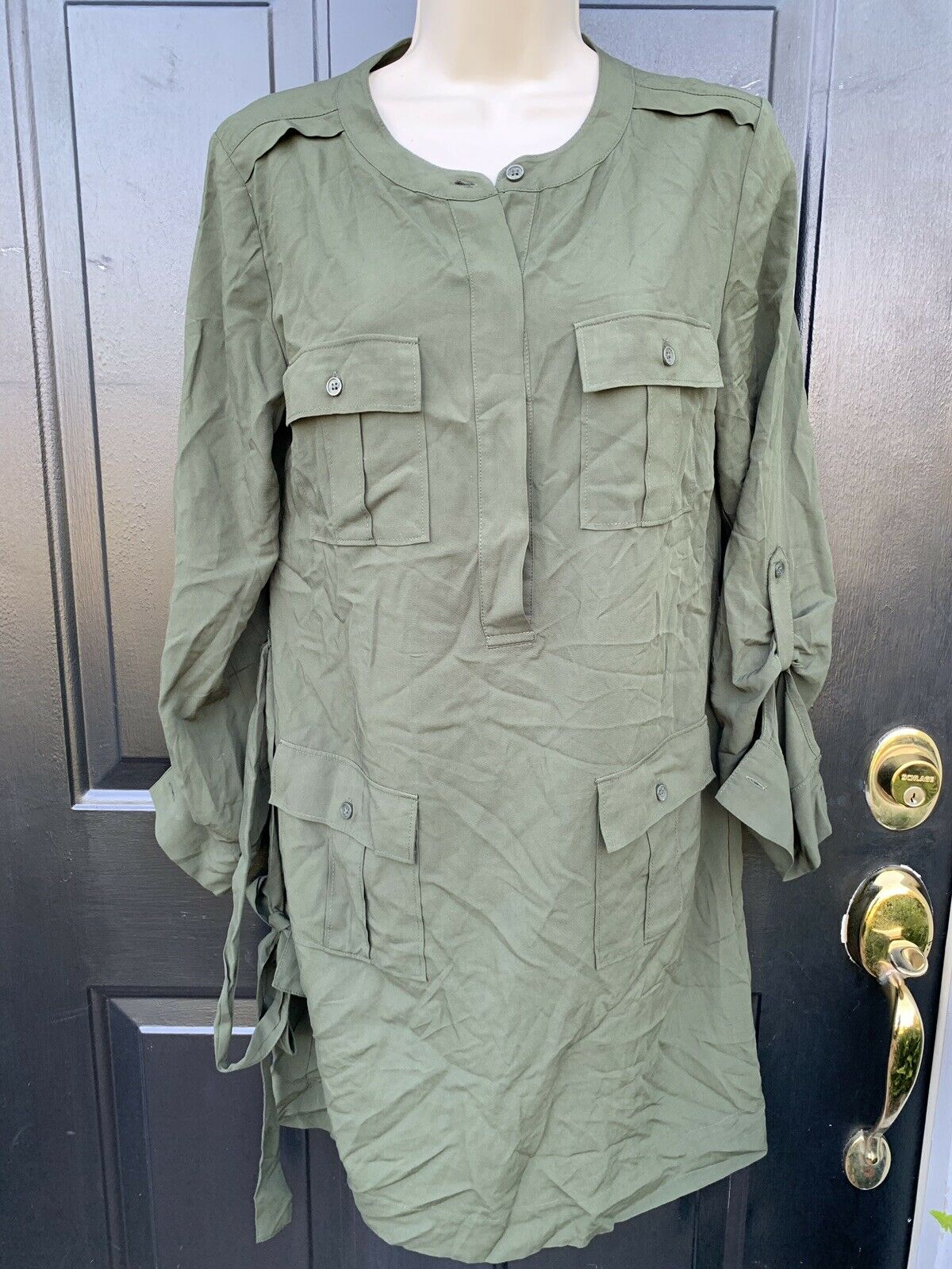 NWT Banana Republic  Dress Size 4 Green New@79