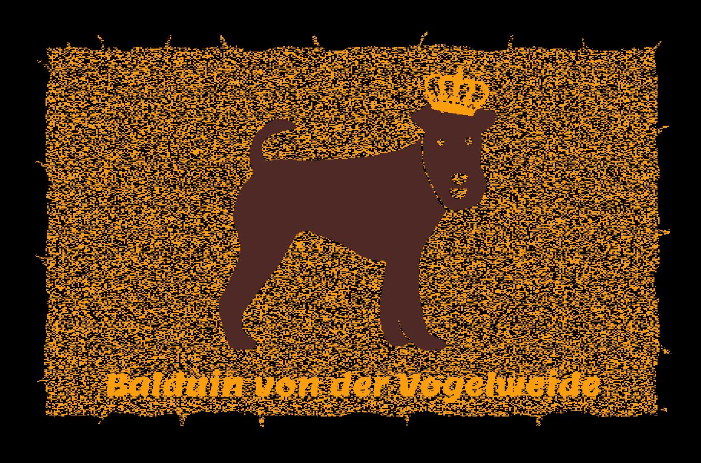 Fußmatte mit Namen Napfunterlage Hundematte  90x60 cm  Design 27180060  | Good Design