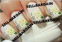 Bridal I Do Wedding Calla Lilies Lily Flowers《tattoo Nail Art Decals