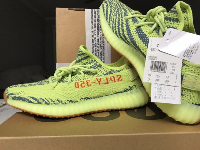 big sale cac3e 36385 adidas Yeezy Boost 350 V2 Frozen Yellow Mens Size 10 DS