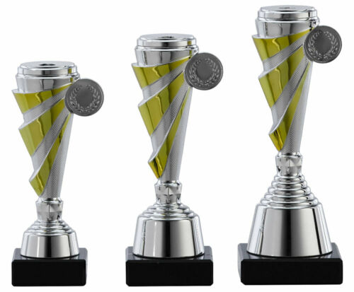 A1104 Fußball Kicker Pokal Gr 24 cm Turnier Kids Trophäe Pokale mit Gravur
