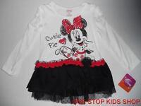 Minnie Mouse Girls 2t 3t 4t 4 5 6 Outfit Dress Set Shirt Top Skirt Disney