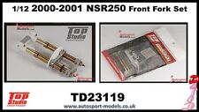 1/12 2000-2001 Honda NSR250 Front Fork Set by Top Studio TD23119 for Hasegawa