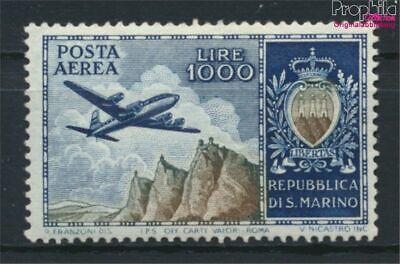 kompl.ausg. 9288713 Zu Verkaufen Diplomatisch San Marino 512 Postfrisch 1954 Flugpostmarke