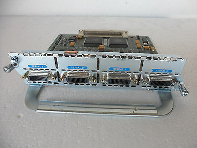 Cisco 2600 2610 3600 4 Port Serial Interface NM 4A//S