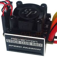 Speed Passion Reventon Stock Club Race Brushless ESC Fits 1/10 Hobbywing Motor