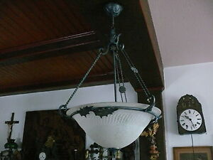 Art-Deco-Deckenlampe-Lampe-kein-Original