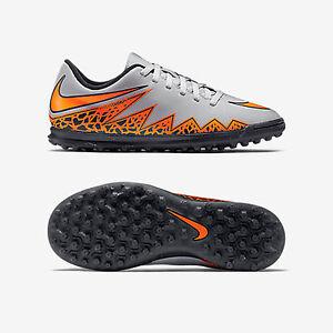 Dettagli su Nike HYPERVENOM PHADE II TF 749912 080 SCARPA CALCETTO RAGAZZO col.Grigio NEW