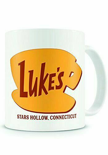 Lukes Diner Mug Gilmore Girls Themed No Cell Phones Coffee Cup Stars Hollow Gift