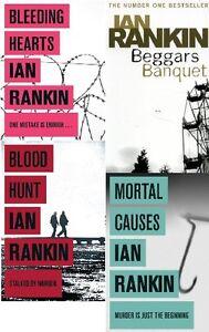 Ian-Rankin-4-Livre-Ensemble-Collection-Tout-Neuf-Livraison-Gratuite