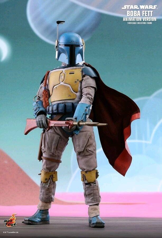 Star Wars - Boba Fett Animated Animated Animated 12
