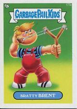 Garbage Pail Kids Mini Cards 2013 Base Card 177b Bratty BRENT