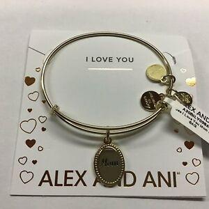 Alex and Ani Because I Love You Mom IV EWB SAG